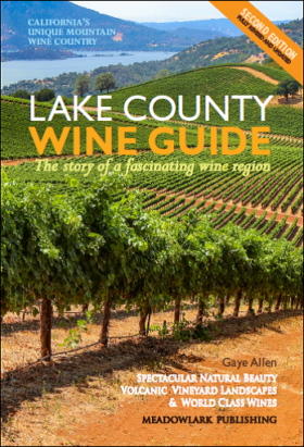 cover of Lake County Wine Guide by Gaye Allen