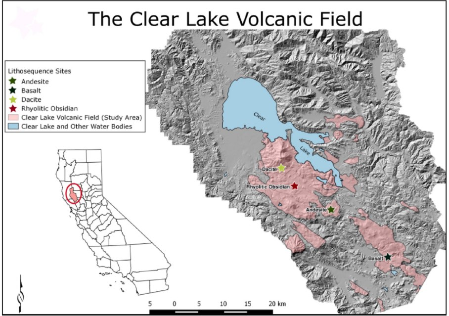 The Clear Lake Volcanic Field