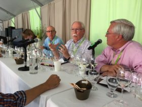 Panel of speakers during Sauvignon Blanc Experience.  Photo by Jim Gordon